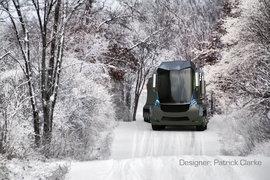 国外的大型运输概念车
