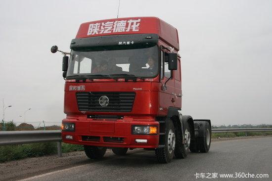 优化设计试驾德龙轻量化牵引车新F2000