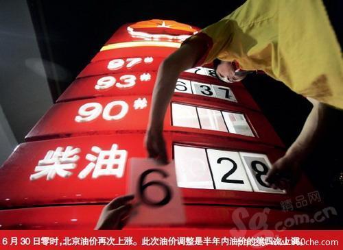 中国和美国攀比油价