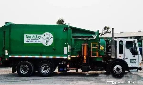 喷气式电动垃圾车一辆134万堪比豪车价