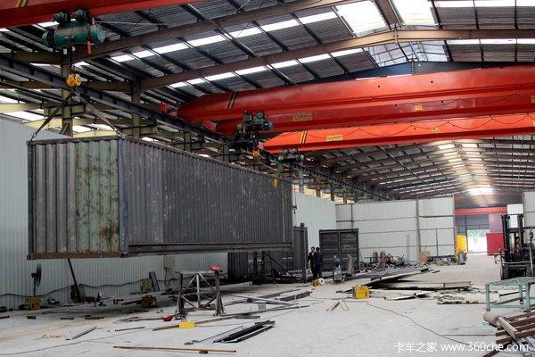 金秋探访工厂 记录挂车集装箱制造过程