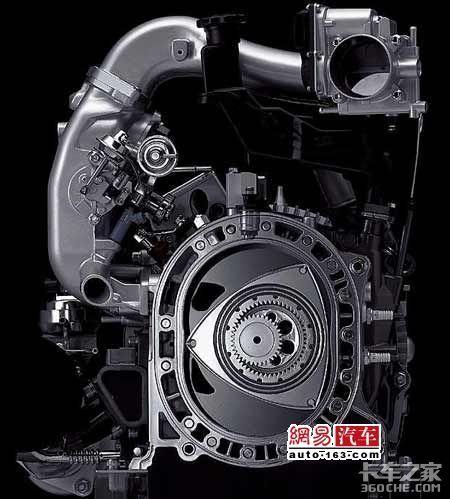 全球唯一转子引擎货车