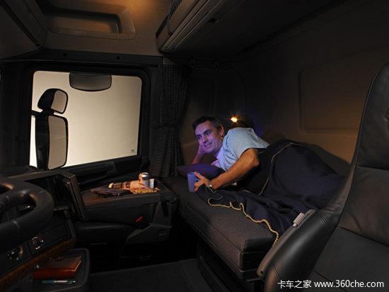 评斯堪尼亚卡车驾驶室