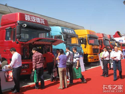 济南卡车展到达武汉