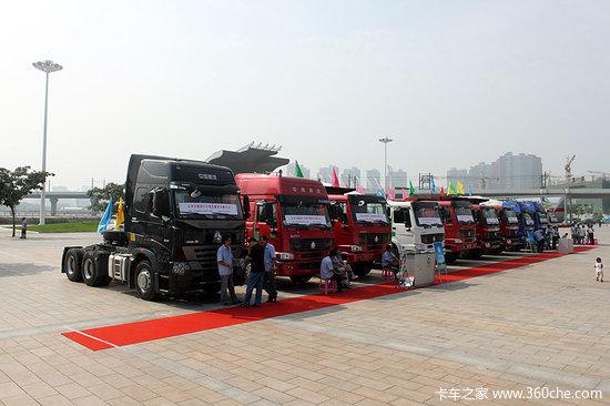 天津国际商用车暨零部件展览会今日开幕