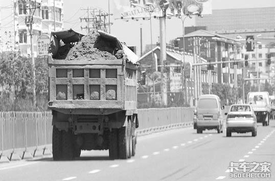 大货车市内行驶有新规
