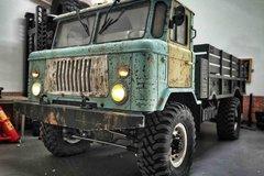 拼装GAZ卡车能潜水 自己动手向传奇致敬