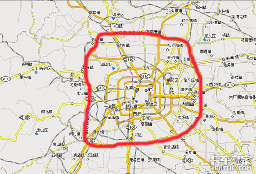 北京六环路全线通车