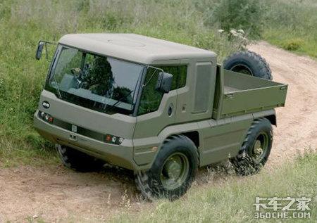 JCB推出4X4HMUV多用途越野运载轻卡车