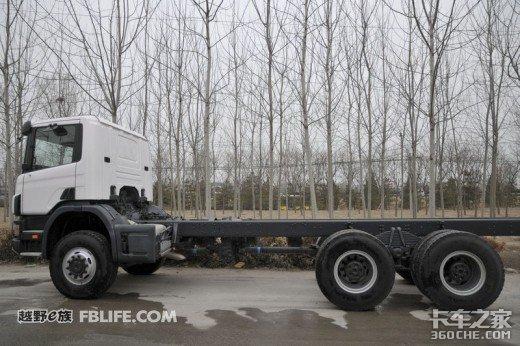 斯堪尼亚6x6卡车详图