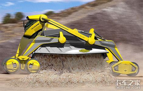 国人设计的超级自卸车