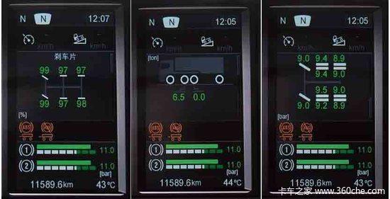 斯堪尼亚G420牵引路试