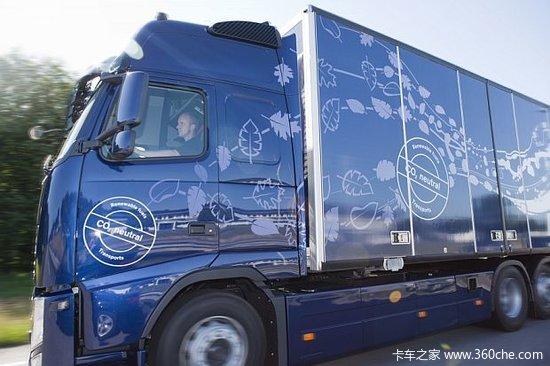 开发新能源沃尔沃发布DME能源概念卡车