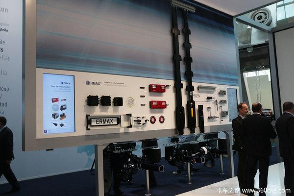 挂车轮毂电机能节油 汉诺言威BPW展新技术