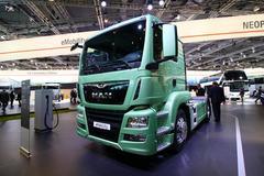 IAA曼载重卡车更高性能 更节能且可联网
