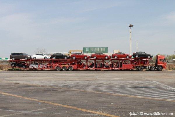 双排车终成历史 中置轴轿运车逐步兴起