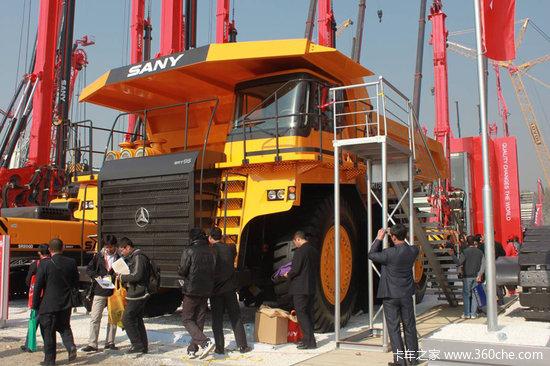 工程机械展览会开幕