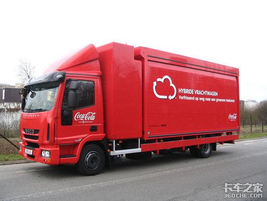 节能环保混合动力卡车