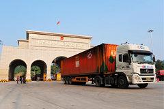 中国第一条国际高速路 20小时穿越3国家