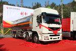 T7 8x4油罐车 多项轻量化设计多拉几吨