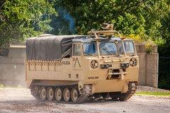 服役50载还很萌!美国M548履带式运货车