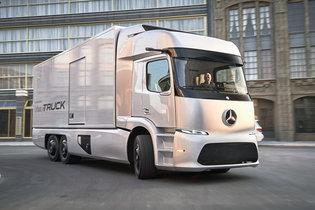 火星人刚订了20台 奔驰纯电动卡车投产