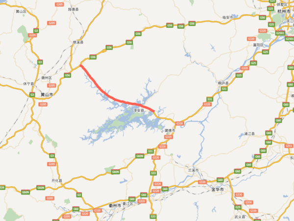 淳安到黄山只要1小时浙江安徽更近了