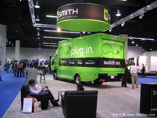 美政府采购纯电动卡车