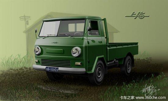 怀旧上海牌SH130卡车