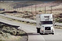 自动驾驶将到来 司机睡着也能把货送到