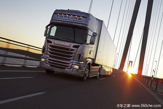 斯堪尼亚全新R系列荣膺'2010年度卡车'