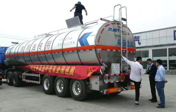 激情来袭瑞江高端液罐车多地同步巡展