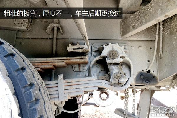 玉柴+轮减桥自卸两代4x2东风经典车型