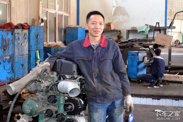 关爱从细节开始访北京解放锡柴服务站