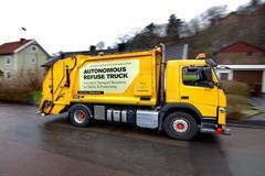 司机将下岗 沃尔沃研发自动驾驶垃圾车