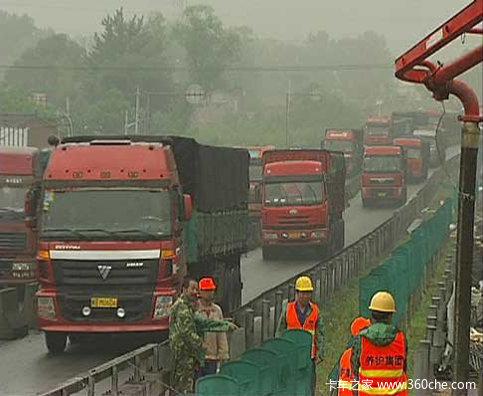 探访京新高速堵车原因
