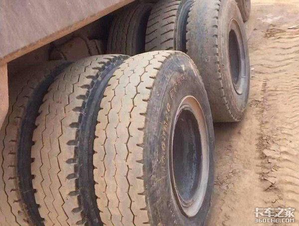 高手在民间后八轮自卸车改装成后12轮