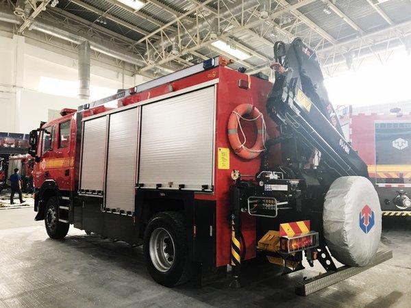 首款四�T消防��S玫妆P�W耀北京消防展