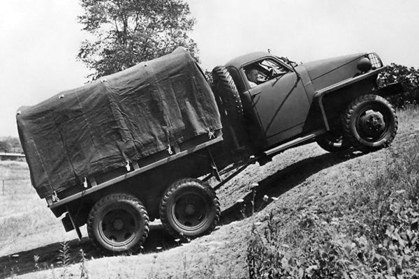 战火中立下汗马功劳的斯图贝克US6军车