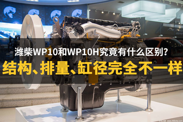 潍柴WP10和WP10H究竟有什么不同?
