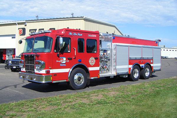 一辆连续服役了60年的消防车长什么样?