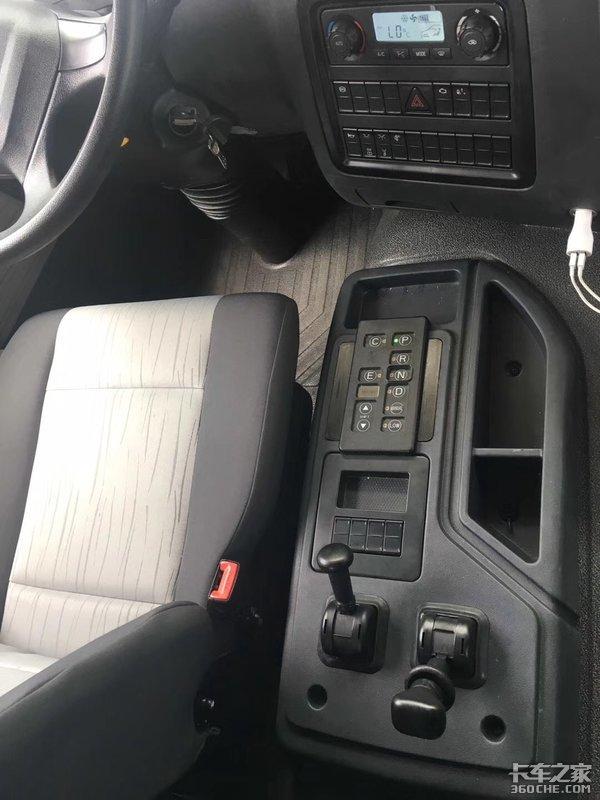 联合卡车纯电动重卡曝光和银隆合作