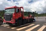 新车促销 格尔发K5平板运输车售35.8万