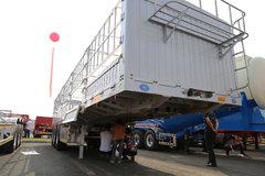自重仅为4.8吨 铝铁混合挂车亮相挂车展
