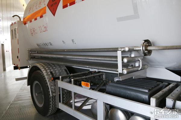 4×2LNG运输车小范围低温液体运输首选