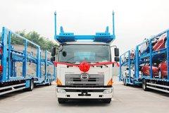 轻松装下9台SUV 广汽日野中置轴轿运车