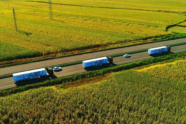 一汽解放智能卡车成功完成高速公路测试