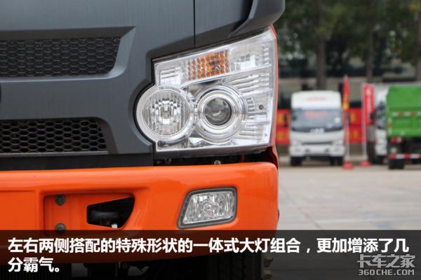 双排驾驶室实拍福田瑞沃E3平板自卸车