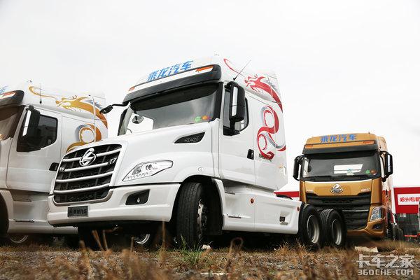 自重8.8吨售价37万乘龙T7长头车图解