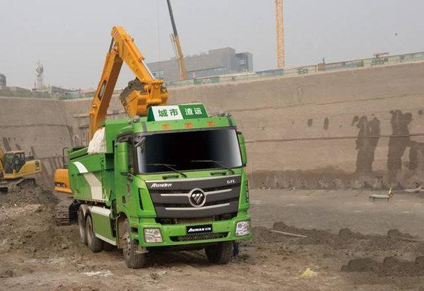 合法运行安全驾驶北京渣土车给你经验